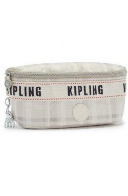 Сумка на пояс Kipling ZINA Soft Plaid Bl (95X) KI3133_95X