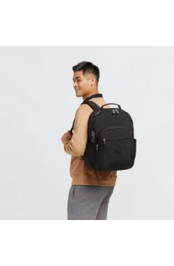 Рюкзак для ноутбука Kipling SEOUL XL Black Noir (P39) KI3864_P39
