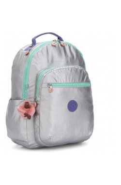 Рюкзак для ноутбука Kipling SEOUL Polished Gr Bl (65E) KI5764_65E