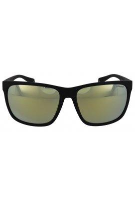 Солнцезащитные очки женские Polaroid PLD7034/G/S-08A-LM - прямоугольные, Цвет линз - синий