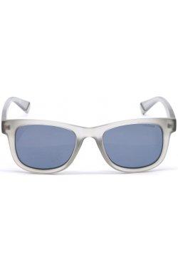 Солнцезащитные очки женские Polaroid PLD8009/N-KB7-EX - wayfarer, Цвет линз - серый