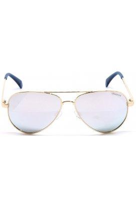 Солнцезащитные очки женские Polaroid PLD8015/N-J5G-EX - авиаторы, Цвет линз - серый