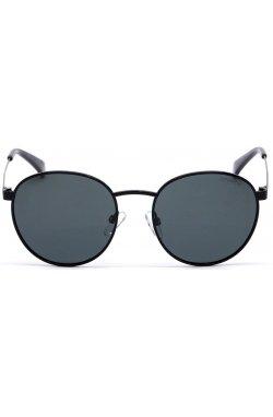 Солнцезащитные очки женские Polaroid PLD8039/S-807-M9 - круглые, Цвет линз - серый