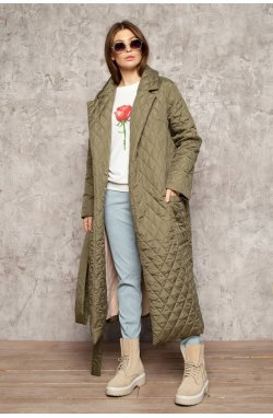 Пальто 3090-c01 SM Хаки