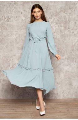 Платье 817-c02 - Голубой