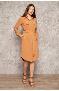 Платье 3083-c02 - Теракотовий