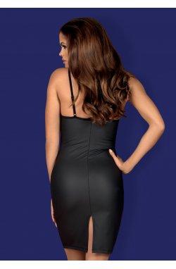 Redella плаття чорне Obsessive (S/M)