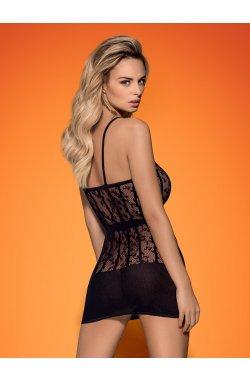D605 плаття чорне Obsessive (S/L)