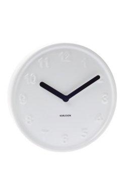 """Часы настенные """"Ceramic style"""" белые, на батарейках - wws-234"""