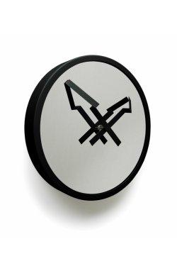 """Часы настенные """"Стрелы"""", черные - wws-434"""
