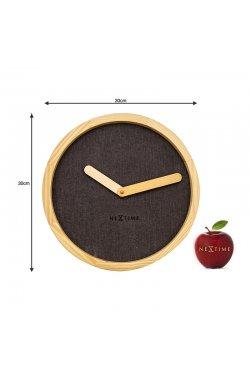 """Часы настенные """"Calm Brown"""" - wws-591"""