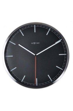 """Часы настенные """"Сompany-stripe"""", чёрные - wws-656"""