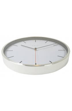 """Часы настенные """"Сompany-stripe"""", белые - wws-657"""