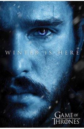 """Постер """"Game Of Thrones (Winter is Here - Jon) / Игра Престолов"""" 61 x 91,5 cм - wws-793"""