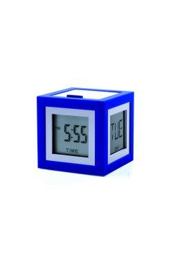 Будильник Cubissimo, синий - wws-805