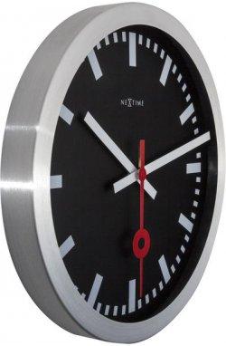 """Часы настенные """"Station"""", черные - wws-810"""