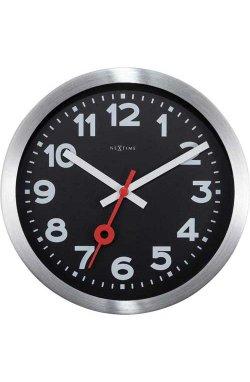 """Часы настенные """"Station Number"""", черные - wws-815"""