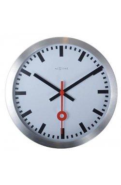 """Часы настенные """"Station Number"""", белые - wws-860"""