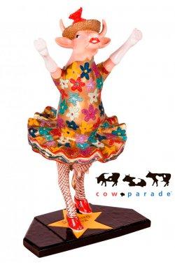 Коллекционная статуэтка корова Dancing Diva - wws-2246