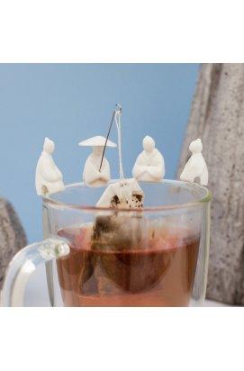 """Набор держателей для чайного пакетика """"Рыбалка"""" 4 шт. - wws-2626"""
