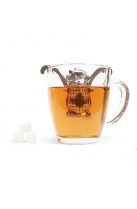 "Ситечко для заваривания чая ""Обезьянка""с подставкой - wws-3855"