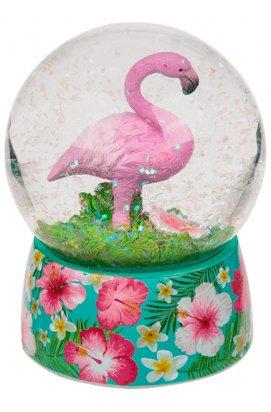 Шар стеклянный ООТВ Фламинго - wws-4076