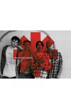 "Постер ""Red Hot Chili Peppers - Red Asterix"" (PP 32844@) 61 х 91,5 см - wws-4142"
