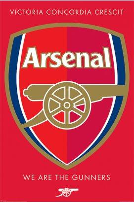 Постер Arsenal FC (Crest) 61 x 91,5 cм - wws-4145