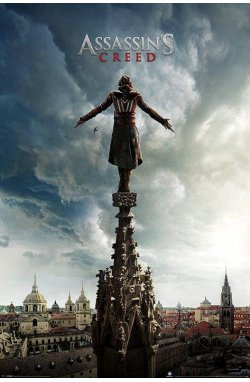 "Постер ""Assassin's Creed Movie (Spire Teaser)"" 61 x 91,5 cм - wws-4152"