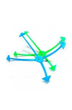 """Магнитная фоторамка """"Пауки"""", сине-зеленая - wws-4231"""