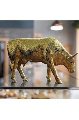 """Коллекционная статуэтка корова """"Mira Moo-Gold"""" - wws-4274"""
