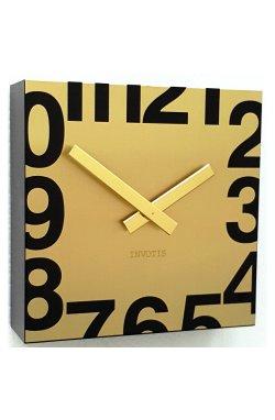 """Часы настенные """"Square"""", золото - wws-5716"""