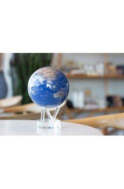 """Гиро-глобус Solar Globe Mova """"Политическая карта"""" 11,4 см серебристый (MG-45-BSE) - wws-6648"""