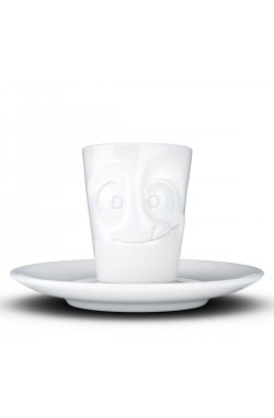 Espresso чашка с ручкой Tassen Лакомство (80 мл), фарфор - wws-6657