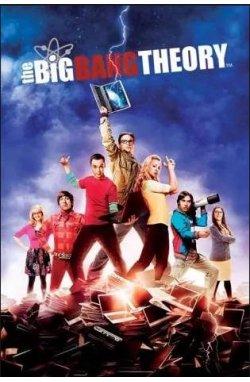 Постер The Big Bang Theory 61 x 91,5 cм - wws-6675