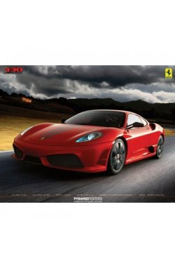 """Постер """"Ferrari-430 Scuderia"""" 61 x 91,5 cм - wws-7132"""