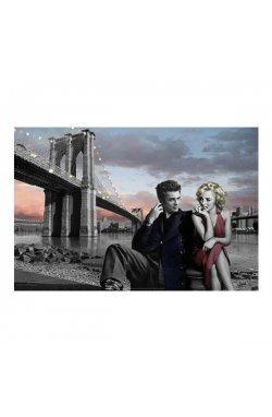 "Постер ""Brooklyn Nights - Chris Consani"" 61 x 91,5 cм - wws-7141"