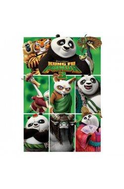 """Постер """"Kung Fu Panda 3"""" 61 x 91,5 cм - wws-7151"""