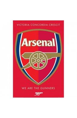 """Постер """"Arsenal FC (Crest)"""" 61 x 91,5 cм - wws-7154"""