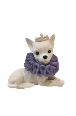Статуэтка собачка королева высота - wws-7765