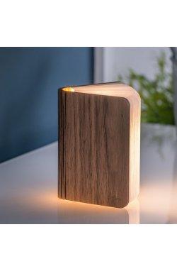 "Светильник-книга ""Smart Book"" мини, дерево орех - wws-8044"