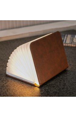 """Светильник-книга """"Smart Book"""", натуральная кожа - wws-8045"""