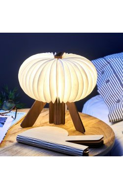 Светильник Gingko R Space Lamp орех - wws-8354