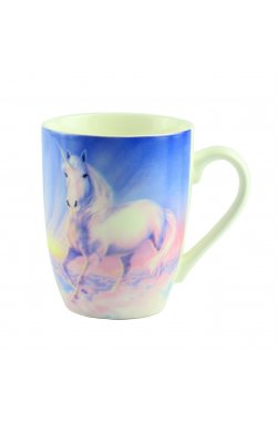 "Чашка ""Mug unicorn Desing"", голубая - wws-8640"