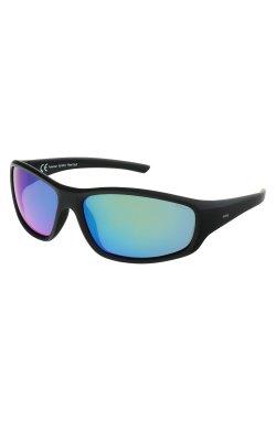 Солнцезащитные очки INVU A2105D - облегающие, Цвет линз - зеленый