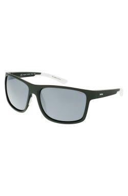 Солнцезащитные очки INVU A2123C - прямоугольные, Цвет линз - серый