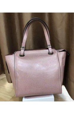 Женская розовая сумка Grays GR-6689LP - натуральная кожа, розовый