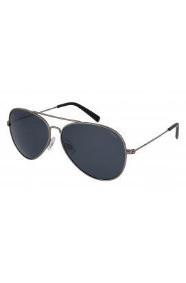 Солнцезащитные очки INVU B1411Q - авиаторы, Цвет линз - серый