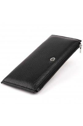 Горизонтальный тонкий кошелек из кожи унисекс ST Leather 19324