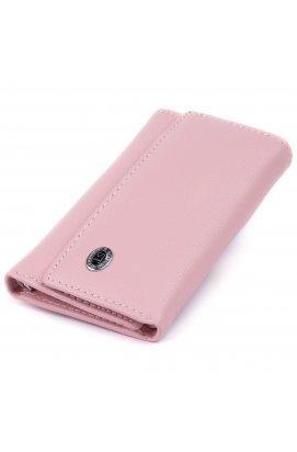 Ключница-кошелек женская ST Leather 19227 Розовая